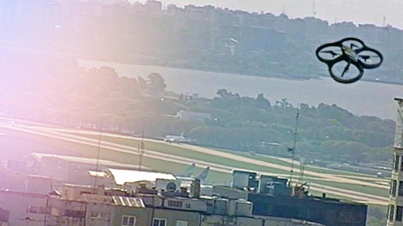 restricciones de vuelo en drones en nucleos urbanos