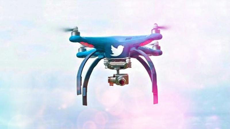 twitter drones