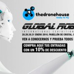 The Drone House en GLOBAL ROBOT EXPO de Madrid