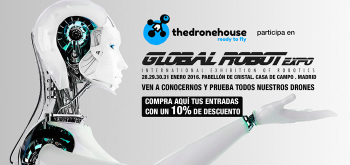 The Drone House en Global Robot Expo