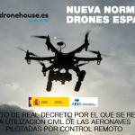 Borrador del nuevo Real Decreto que regulará la utilización de Drones en España