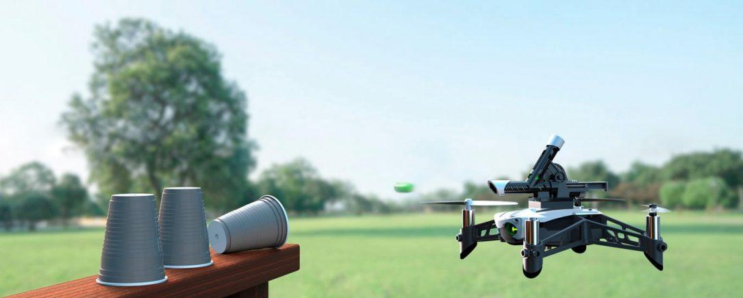 Parrot Mambo, el drone que pone a prueba tus habilidades y puntería