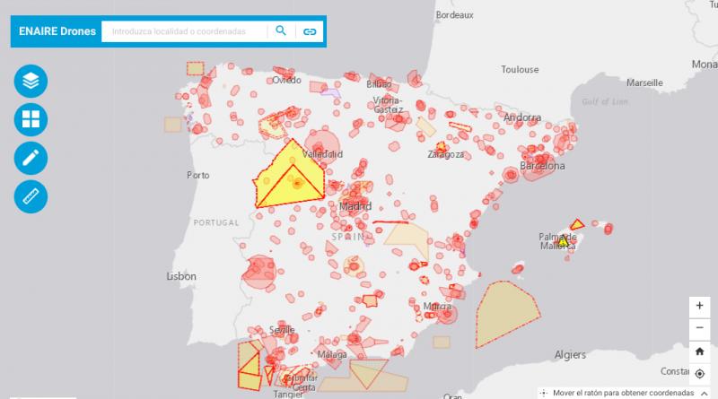 ENAIRE DRONES, la herramienta oficial para planificar tus operaciones con Drones