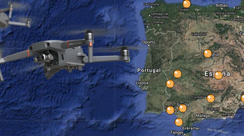 HUB FORMACION OPEN DRONE: El nuevo mapa de la formación con drones en España